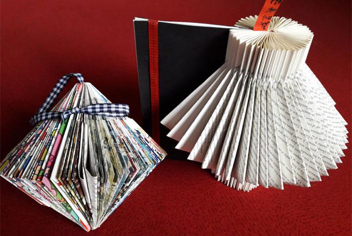 Atelier «Créer à partir de livres usagés»