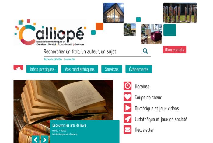 Le nouveau site du réseau Calliopé est en ligne