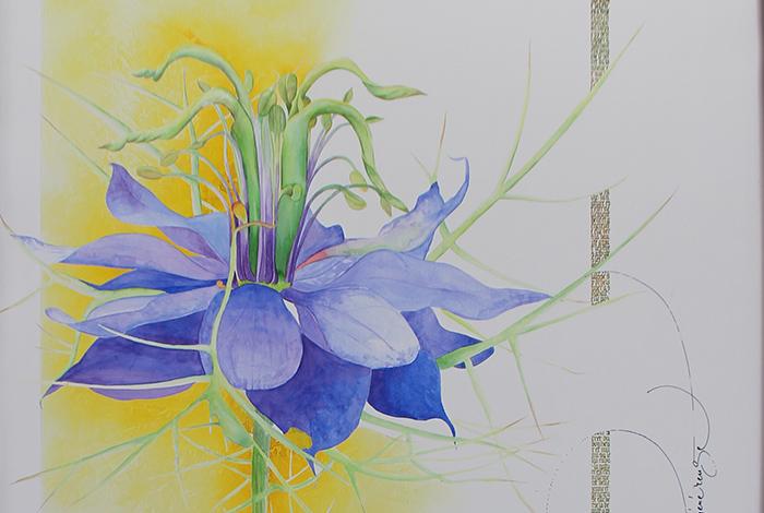 Exposition de calligraphies // Mélanie GRIFFON