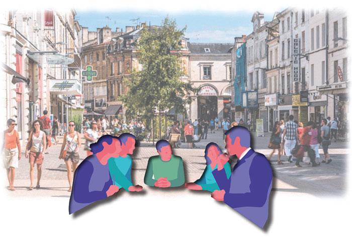 Atelier participatif sur le centre-ville