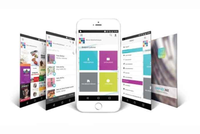 Téléchargez l'application mobile de notre médiathèque