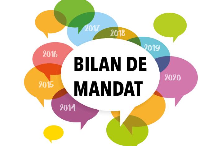Réunion publique «Bilan de mandat»