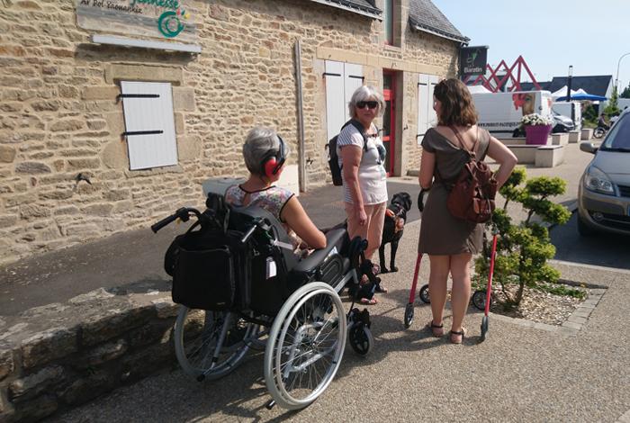 Journée sensibilisation au handicap à Quéven le 05/07/2019