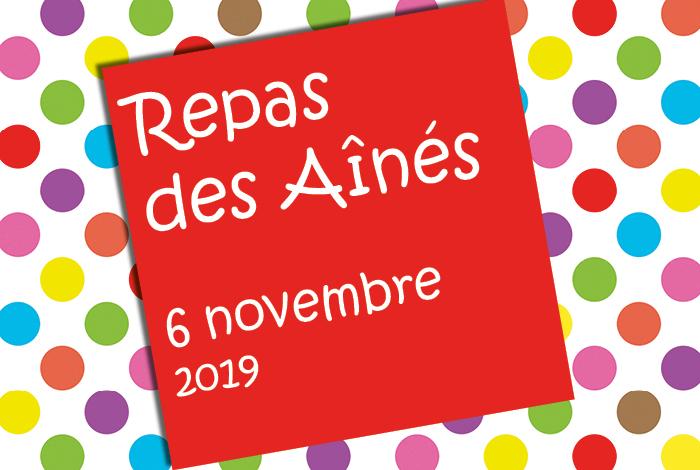 Repas des Aînés 2019 : les inscriptions débutent le 24 septembre