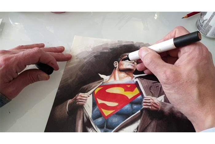 Atelier «Le dessin de super-héros» par Yann Mickaël Talvas