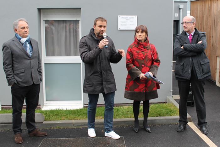 Inauguration de logements sociaux à Croizamus
