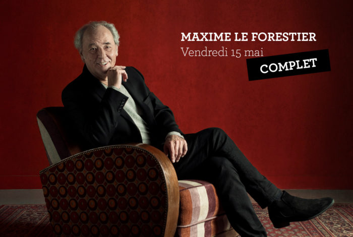 MAXIME LE FORESTIER – Concert complet
