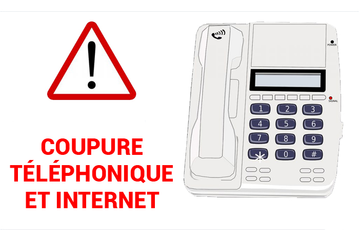 Rétablissement lignes téléphoniques et internet