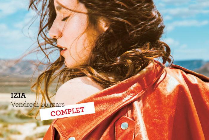 Izia + Lee-Ann Curren (1re partie) // Chanson Rock – COMPLET