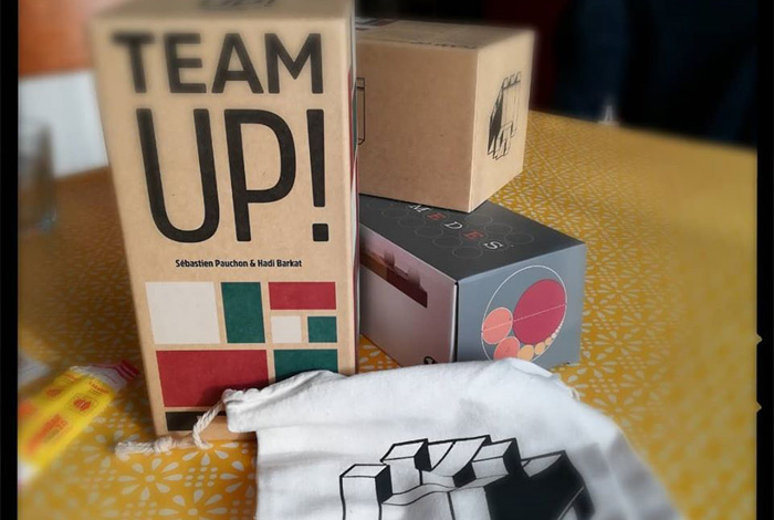 Un nouveau jeu à la médiathèque : Team up
