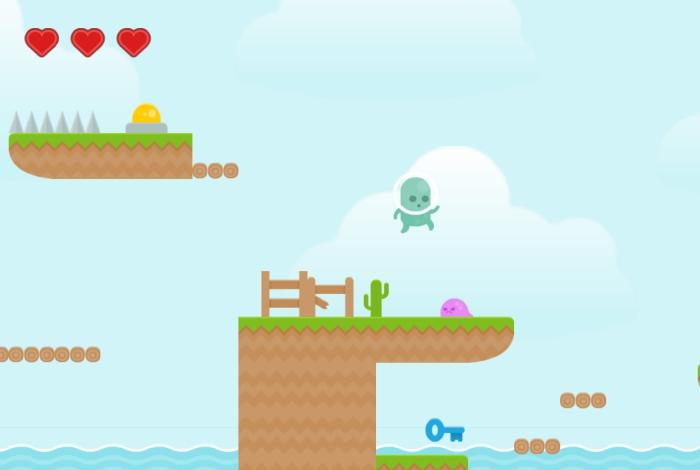 En août: création d'un jeu vidéo en 2D
