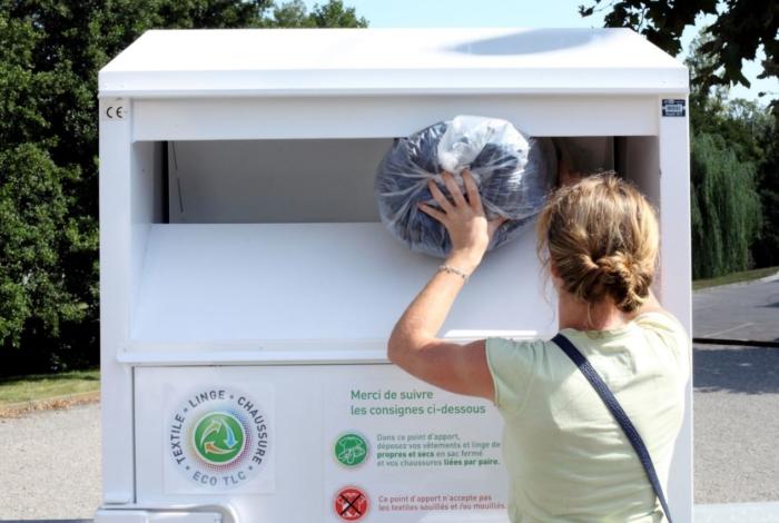 Reprise des collectes des conteneurs à textiles