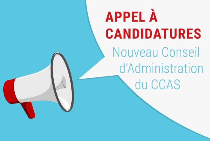 Appel à candidatures pour le Conseil d'administration du CCAS
