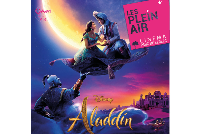 Plein air 2020 : cinéma «Aladdin»