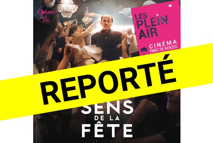 """Plein air 2020 : cinéma """"Le sens de la fête"""""""