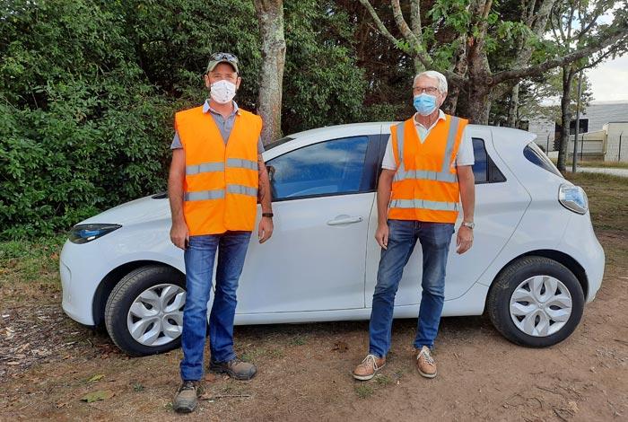 Première voiture électrique pour les Services techniques