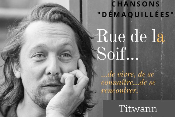 Concert «Rue de la soif» interprété par Titwann