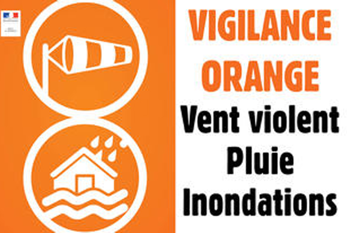 [TEMPETE ALEX] Vigilance orange pour vendredi 2 octobre
