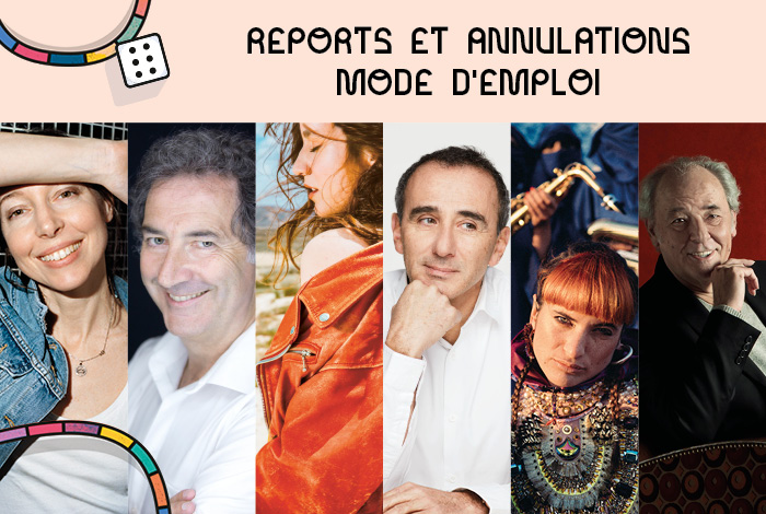 ANNULATIONS – REPORTS -> MODE D'EMPLOI