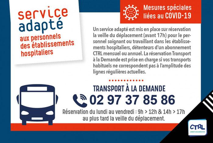 CTRL : L'offre de transport s'adapte au contexte sanitaire actuel