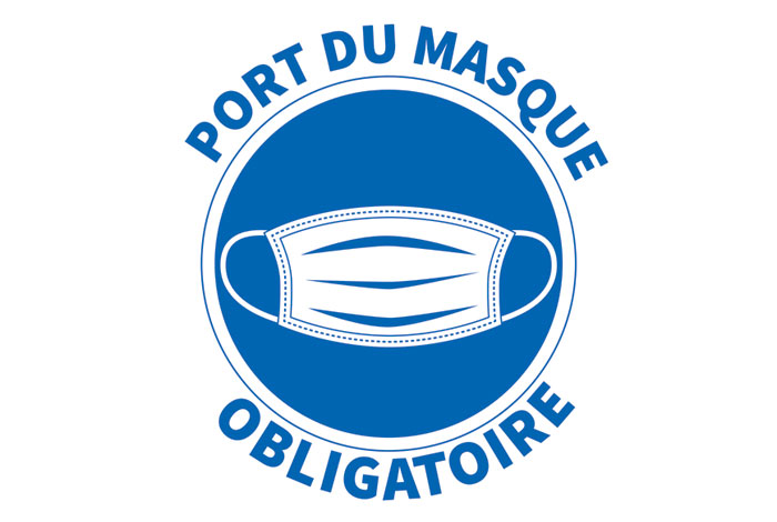 Prolongation de l'obligation du port du masque