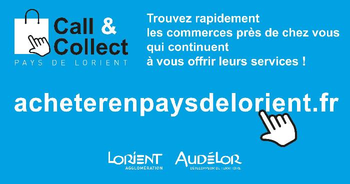 Une nouvelle plateforme «Call & Collect» pour le Pays de Lorient