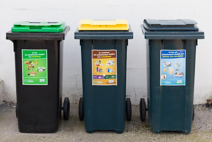 Collecte des déchets : inversement de la règle des semaines paires/impaires