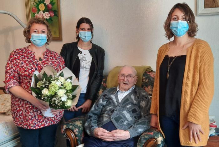 Un nouveau centenaire à Quéven