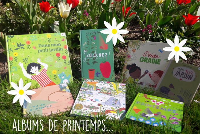 """""""Bonjour Printemps !"""" : sélection d'albums jeunesse"""