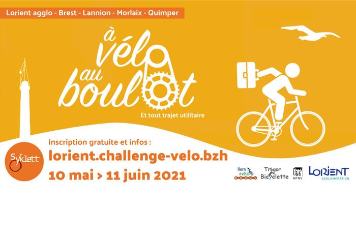 """La ville de Quéven soutient le challenge """"À Vélo Au Boulot"""""""