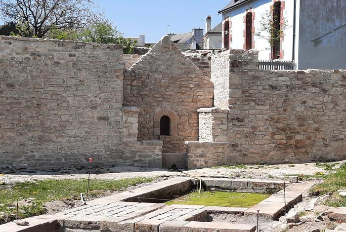 La fontaine Saint Eloi a été rénovée