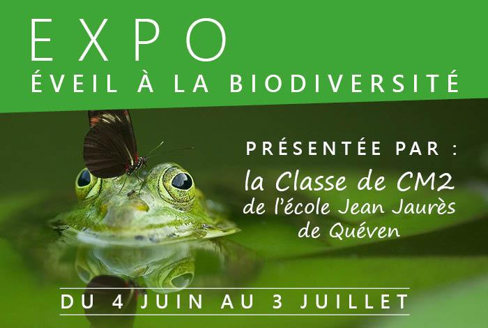 """Exposition """"Eveil à la biodiversité"""""""