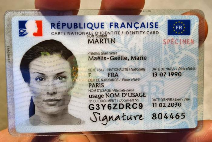 Mise en œuvre de la nouvelle carte d'identité dans le Morbihan à partir du 14 juin 2021