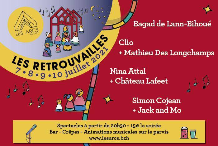 """Programmation """"Les Retrouvailles"""" aux Arcs"""