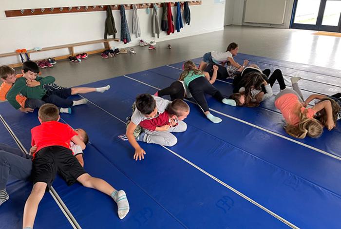 La ville favorise la pratique du sport dans les écoles