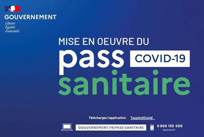 Pass sanitaire obligatoire dans certains lieux publics
