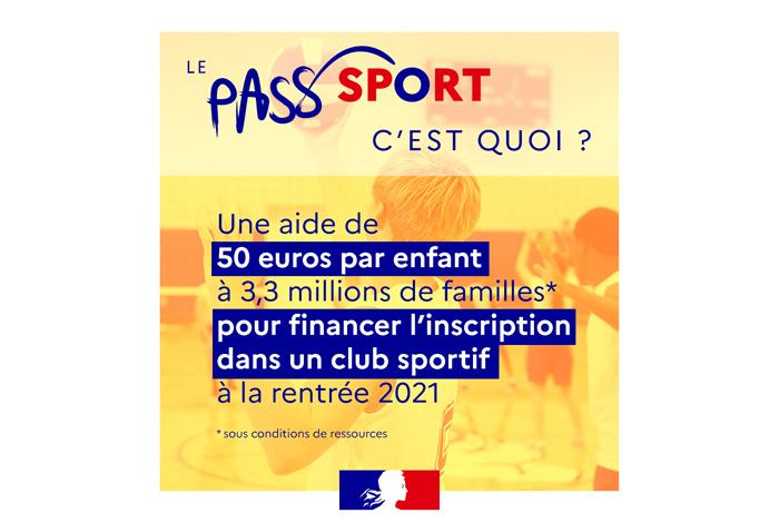 Pass'Sport : 50 euros de réduction pour les enfants de 6 à 18 ans