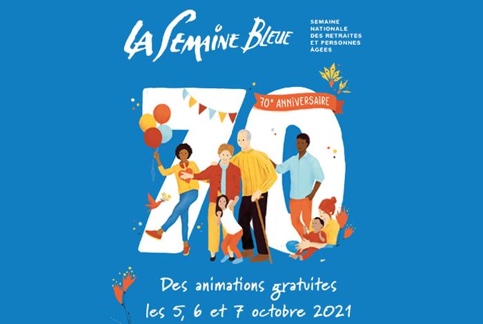 Semaine bleue 2021 : des animations pour les seniors